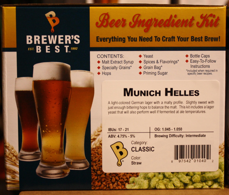 Brewer's Best Munich Helles