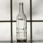 clear bordeaux, wine bottles, clear bottles, 750ml