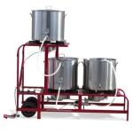 Mega ruby, ruby street brewery, mash tun, beer boiler