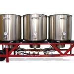 Alpha Ruby, beer brewing system, mash tun, all grain