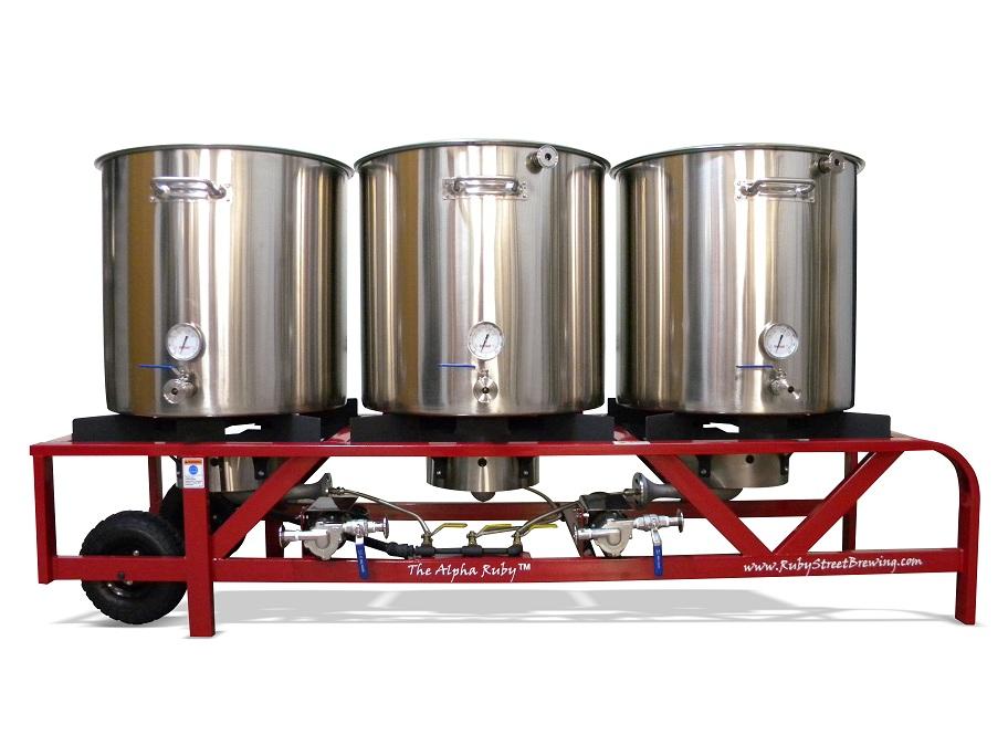 Alpha Ruby Beer Brewing System Growfresh Organics