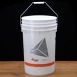 6.5 gallon bucket, gallon, bucket, food safe, lid, grommet
